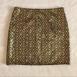Gorgeous Banana Republic Sequined Mini Skirt